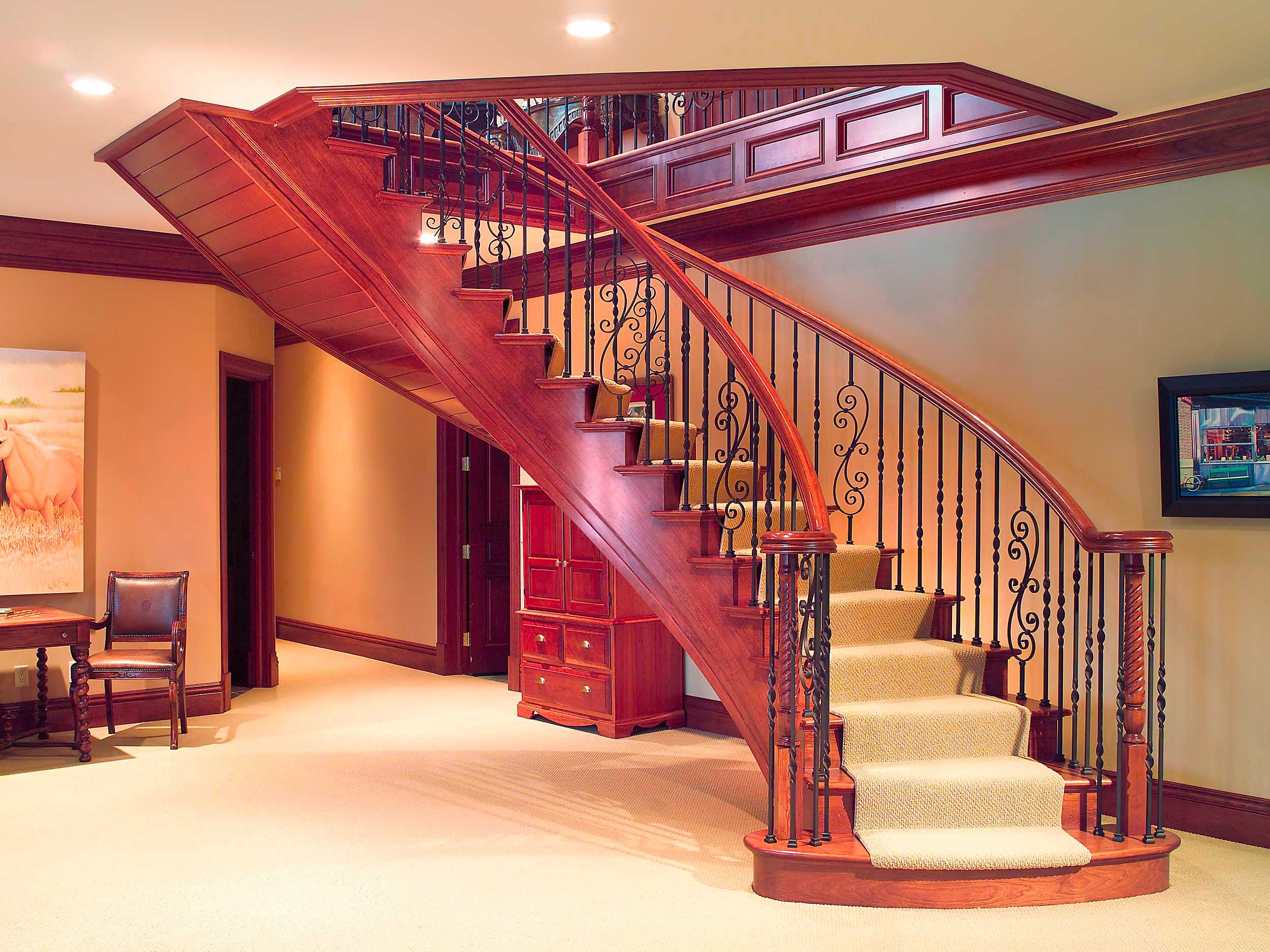 Bon Iron Stair Components