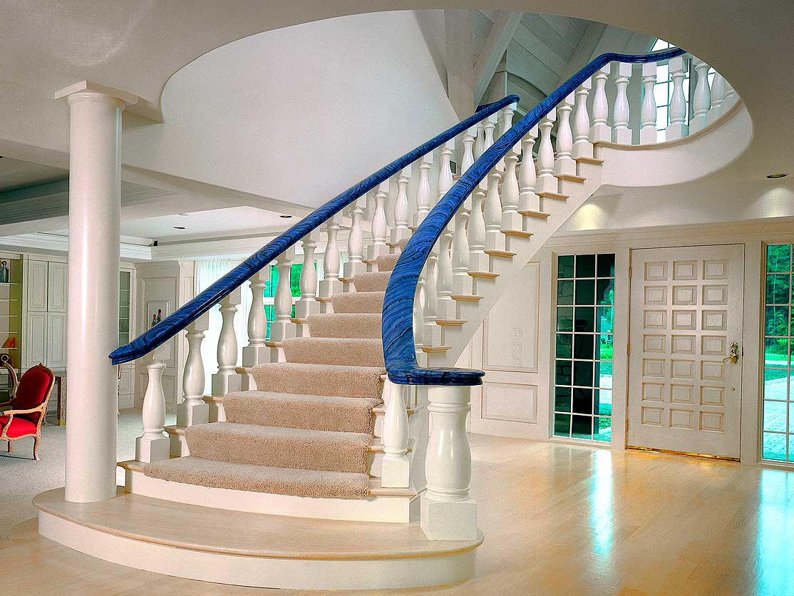 Custom Stair Railing Custom Made And Stock Wood Iron Stair Products And Components By